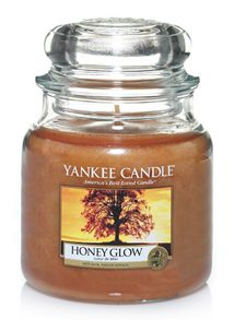 Yankee Candle Honey Glow Medium Jar