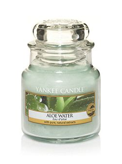 Classic small jar aloe water candle