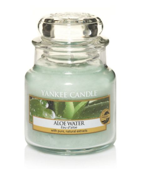 Yankee Candle Classic small jar aloe water candle