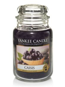 Yankee Candle Classic large jar cassis candle