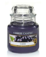Yankee Candle Classic small jar cassis candle