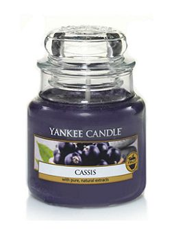 Classic small jar cassis candle