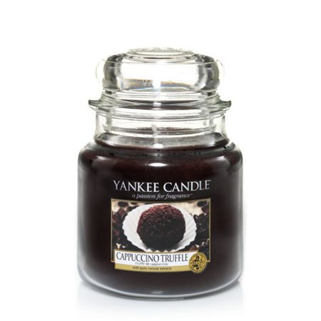 Yankee Candle Cappucino Truffle Medium Jar