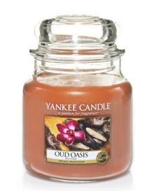 Yankee Candle Classic medium jar oud oasis candle