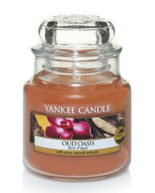 Yankee Candle Classic small jar oud oasis candle