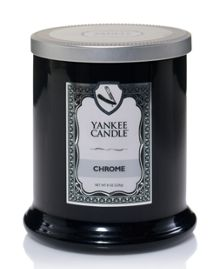 Yankee Candle Barbershop Chrome