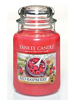 Classic large jar red raspberry