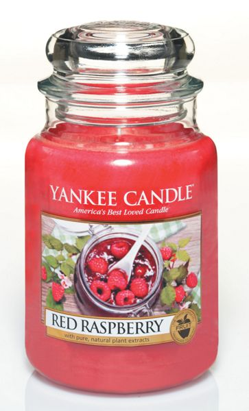 Yankee Candle Classic large jar red raspberry