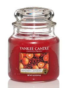 Yankee Candle Classic medium jar mandarin cranberry