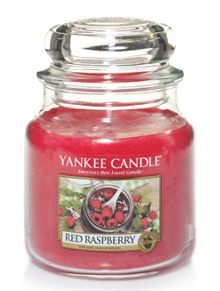 Yankee Candle Classic medium jar red raspberry