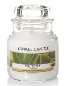Yankee Candle Classic small jar white tea