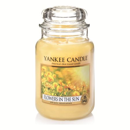 Yankee Candle Classic large jar flowers in the sun