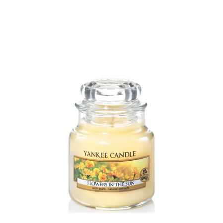 Yankee Candle Classic small jar flowers in the sun