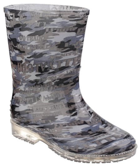 Cotswold Kids Patterned PVC Wellies