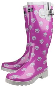 Cotswold Dog paw wellington boots