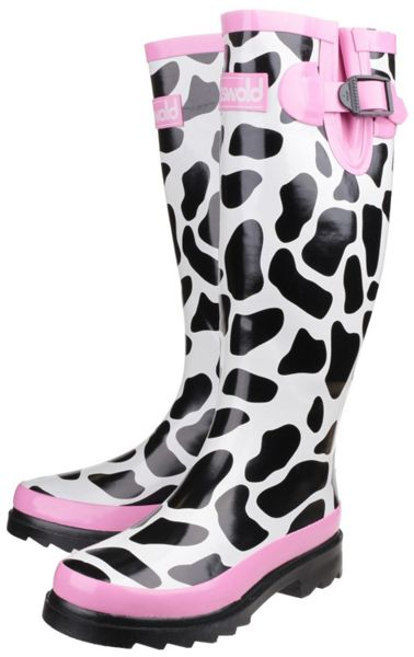 Cotswold Moo wellington boots