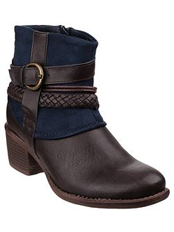 Vado zip up ankle boots