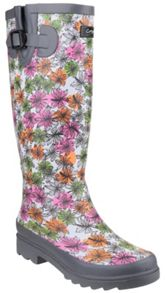 Cotswold Flower power wellington boots