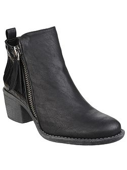 Dench zip up ankle boots