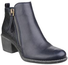 Divaz Dench zip up ankle boots
