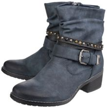 Divaz West zip up ankle boots