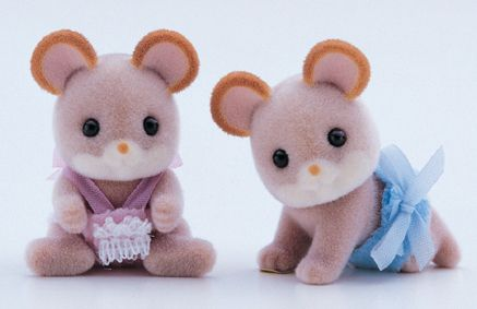 4157 Maces mouse twin babies