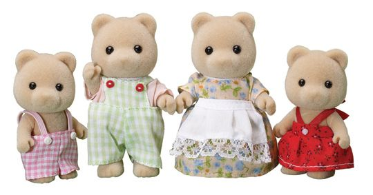 4165 Honey bear family