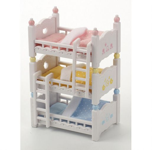 4448 Triple bunk beds