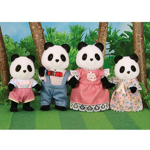 Bamboo Panda Family Set 4465