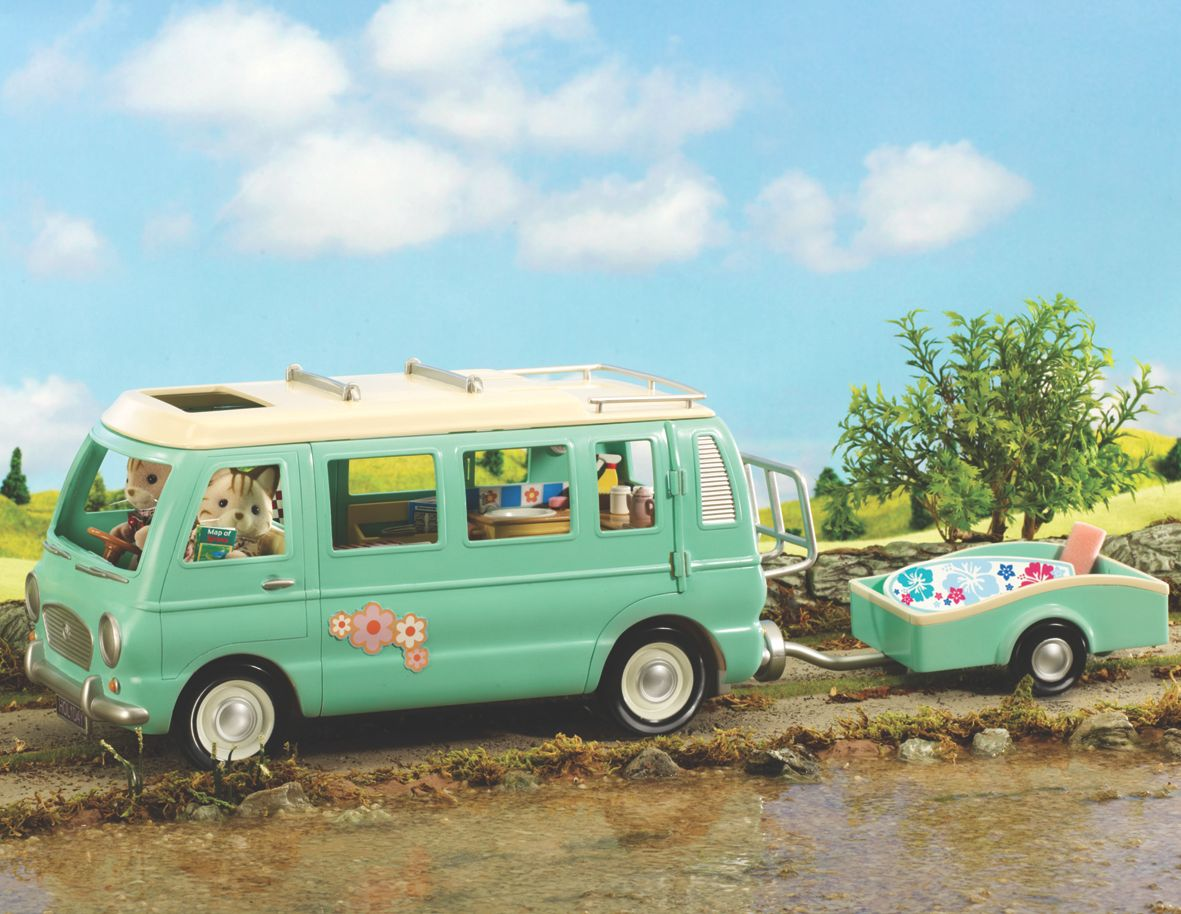 Campervan & trailer 4620
