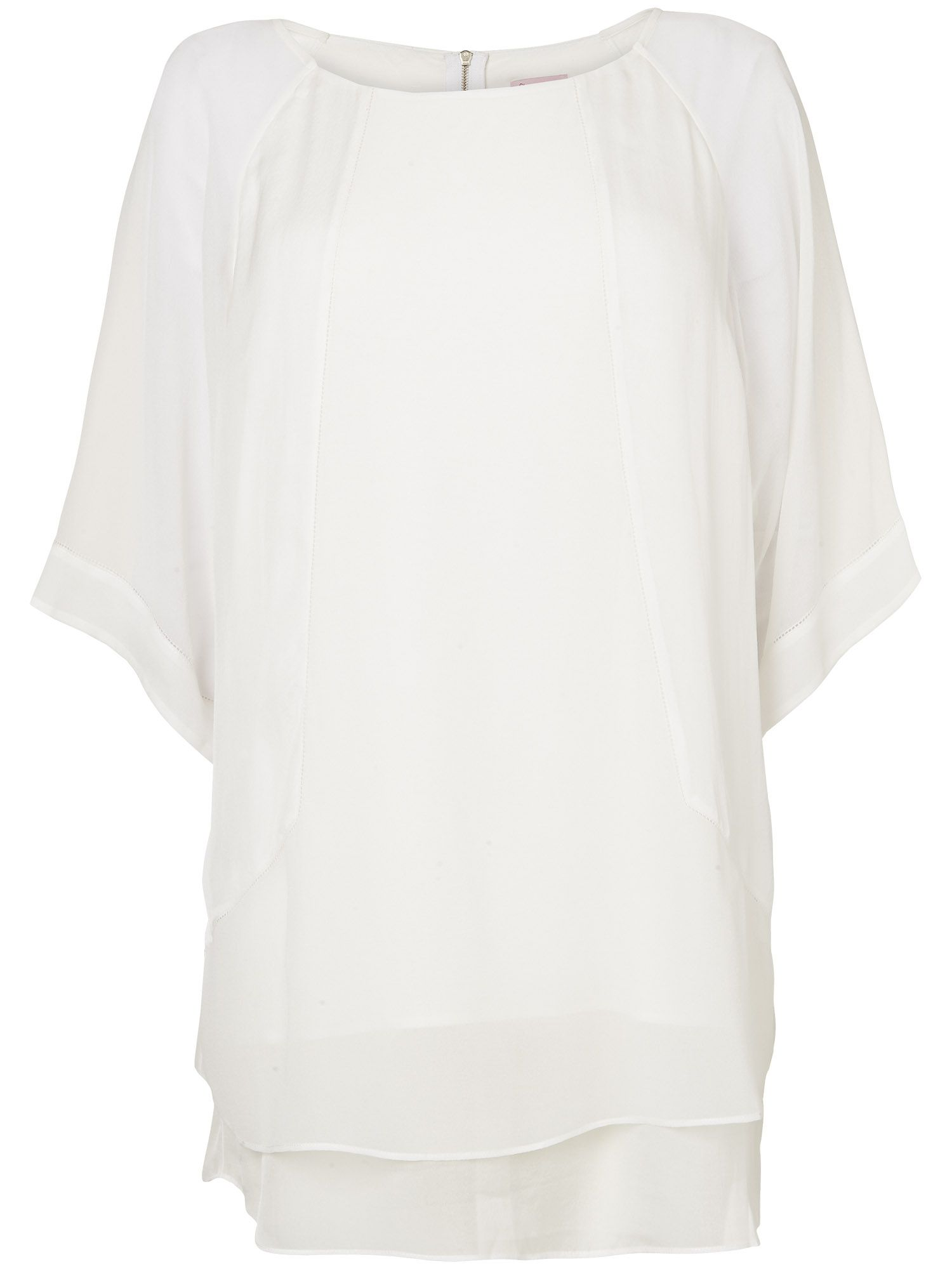Roxie Oversized Silk Blouse