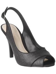 Phase Eight Rachel peep toe sling back shoes
