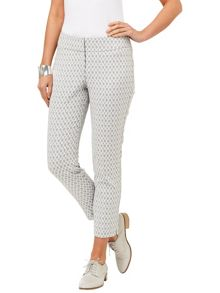 Erica Oval Jacquard Trousers