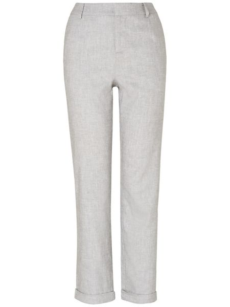 Phase Eight Jana tapered leg linen trousers