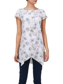 Aude printed blouse