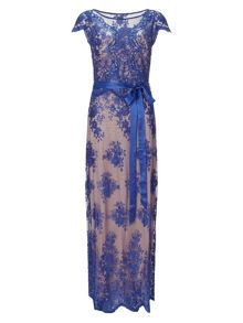 Antonia lace full length dress