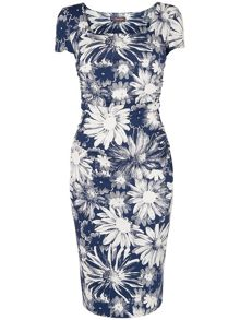 Nicola print dress