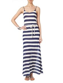 Susanna stripe linen maxi dress