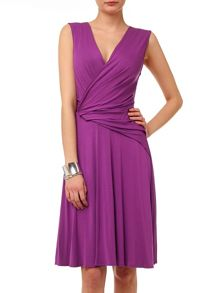 Phase Eight India drape wrap dress