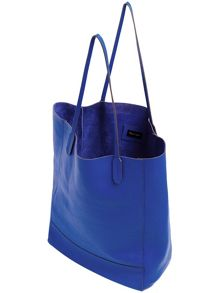 Avery leather shopper