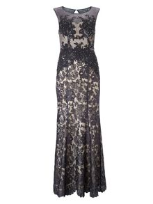 Phase Eight Pedra lace full length dress