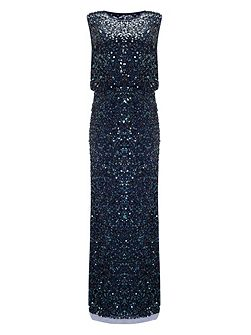 Cleo sequin full length dress