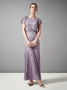 Renee embellished full length dress