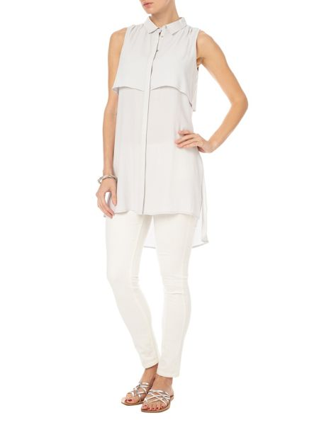 Phase Eight Thomasina sleeveless tunic top
