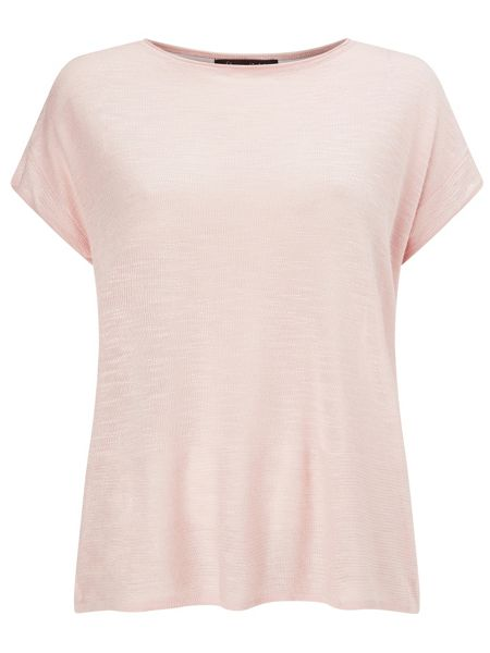 Phase Eight Kerry split back knit top