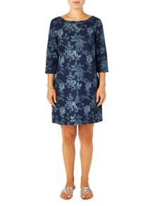 Phase Eight Aura denim swing dress