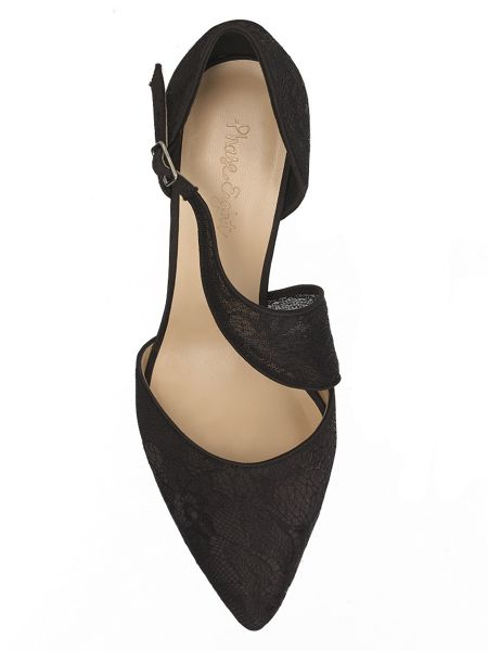 Phase Eight Remi lace point court shoes