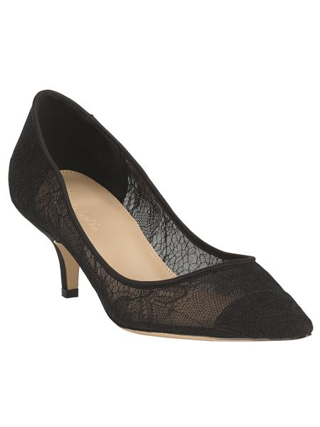 Phase Eight Reese lace kitten heel shoes