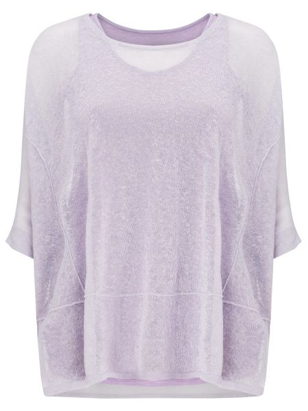 Phase Eight Sana sheer knit top