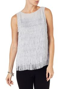 Phase Eight Cici fringe top